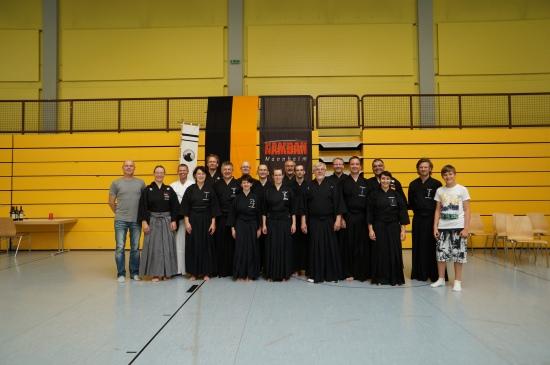 Gruppenbild Teilnehmer 1. BaWü Iaido Meisterschaft